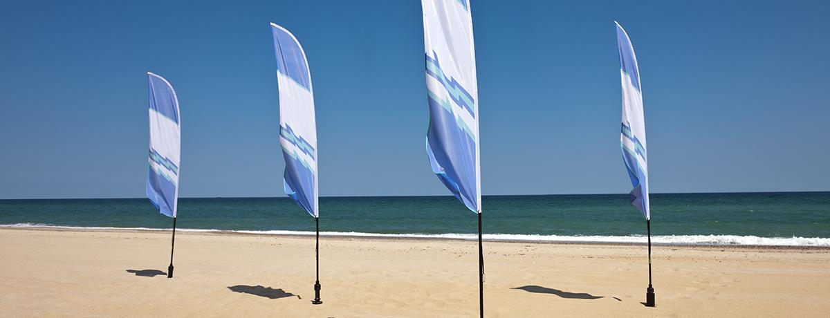 beachflags_smartvertise outdoor reclame