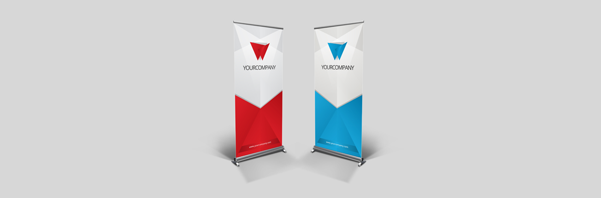 roll-up banner-indoor reclame